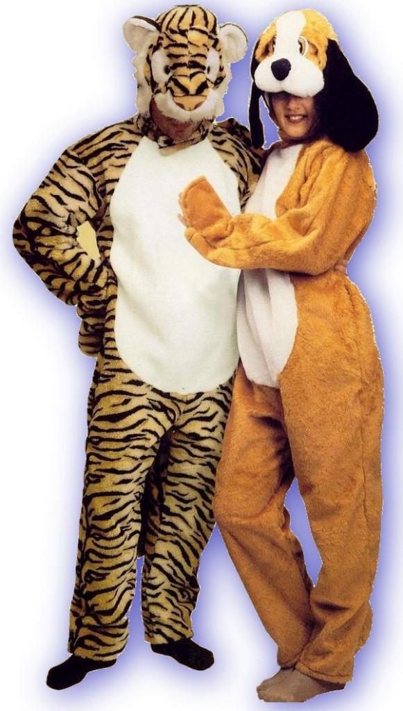 Tigre e cagnolino