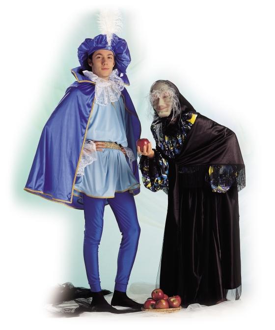 il principe azzurro e la strega cattiva