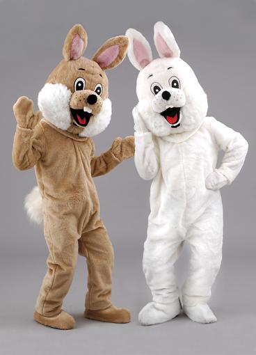 Mascotte coniglio