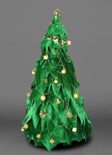 mascotte albero di Natale