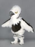 mascotte aquilotto bianco