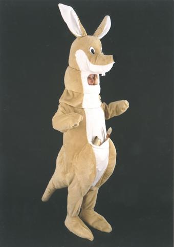 mascotte canguro
