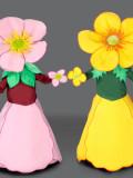 mascotte fiori