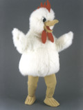 mascotte gallina