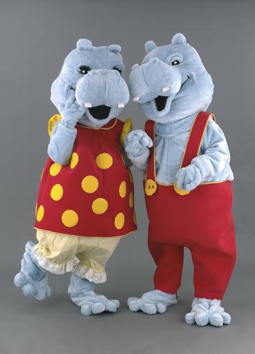 mascotte ippopotami