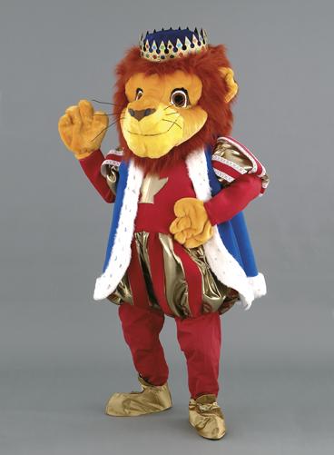mascotte leone imperatore