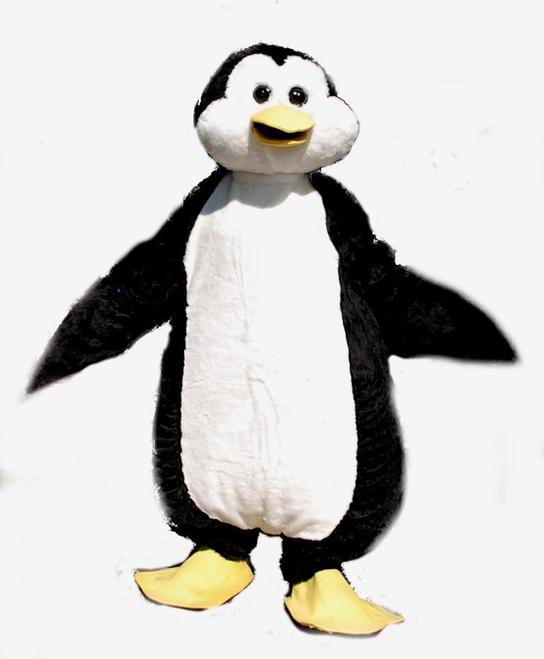 Mascotte Pinguino realizzata per Atlantide Park