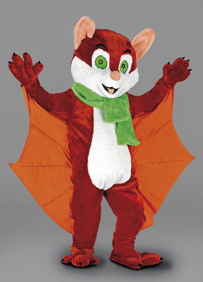mascotte pipistrello