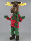 mascotte renna natalizia
