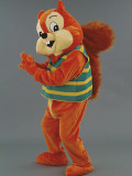 mascotte scoiattolo