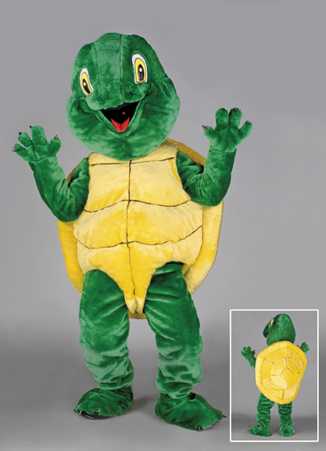 mascotte tartaruga