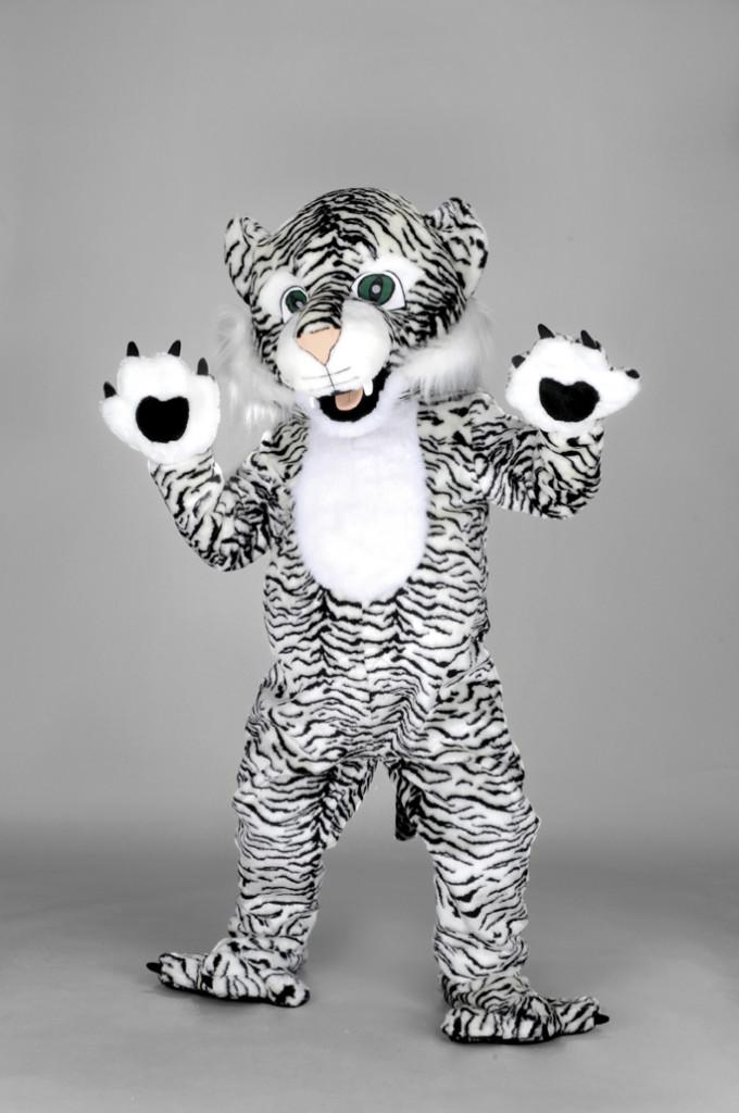 mascotte tigre bianca