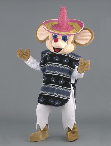 mascotte topolino messicano
