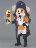 mascotte topolino pirata