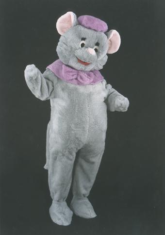 mascotte topolino viola