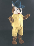 mascotte volpe robin hood