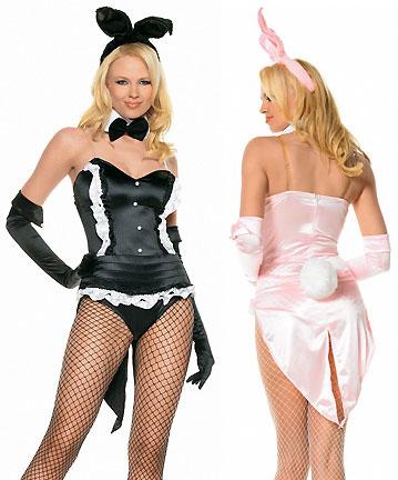 conigliette rosa e nera