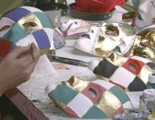 maschere da colorare