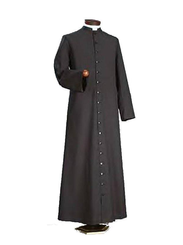 Vestito viola prete