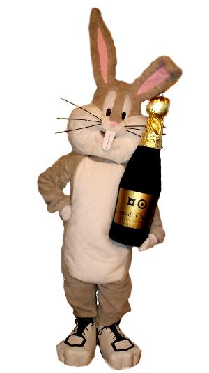 Bunny e gadget bottiglia realizzati per la squadra di basket Montichiari