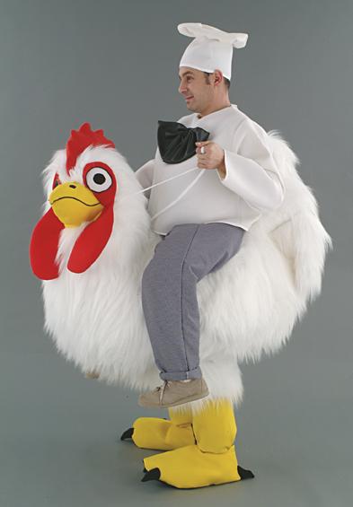 cavalcatura gallina