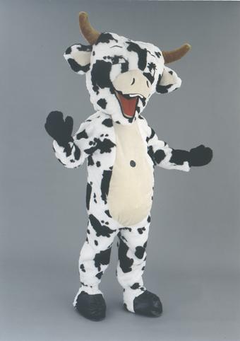mascotte mucca