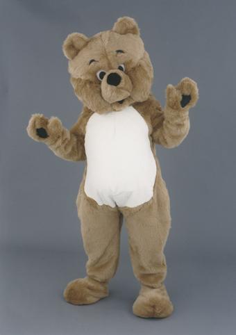 mascotte orso bruno 2