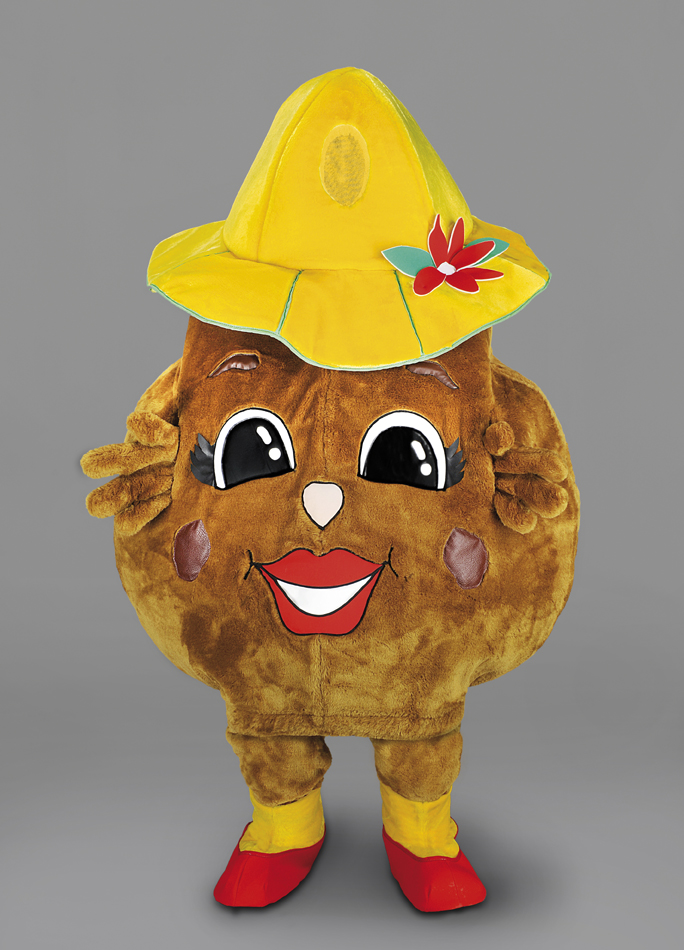 mascotte patata